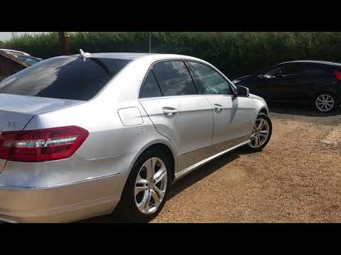 2012 MERCEDES-BENZ E-CLASS 2.1 E220 CDI BLUEEFFICIENCY S/S AVANTGARDE FOR SALE | CAR REVIEW VLOG