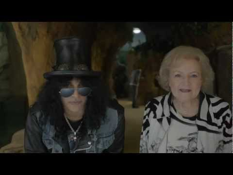 0 Slash & Betty White for the LA Zoo