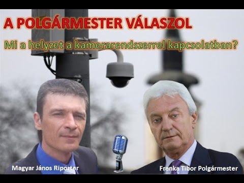 Kerepes Polgármestere válaszol 1. - 2016.06.02. Kamerarendszer