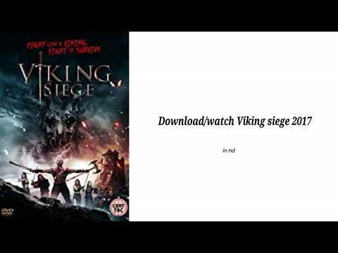 Download/Watch Viking Siege(2017) In HD