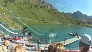 Tignes France  City new picture : Water Slide at Tignes France