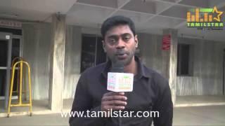 Vincent at AVM Rajeswari Theatre