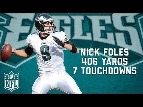 Video: That Time Nick Foles Threw More TD's than Incompletions | NFL Highlights