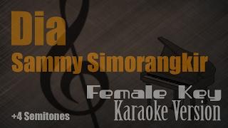 Sammy Simorangkir - Dia (Female Key) Karaoke Version | Ayjeeme Karaoke Video