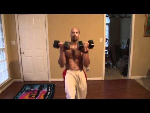 Day 1 INSANITY workout alternative