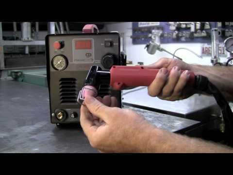 LONGEVITY ForceCut 50D 50 AMP Pilot Arc Plasma Cutter 110/220v Setup Review and Cutting