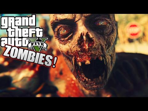 GTA 5 Zombie Apocalypse - The Last SWAT Enforcer (City Of The Dead) Episode 9