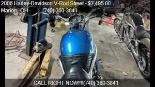 10. 2006 Harley-Davidson V-Rod Street Street Rod with mid contro