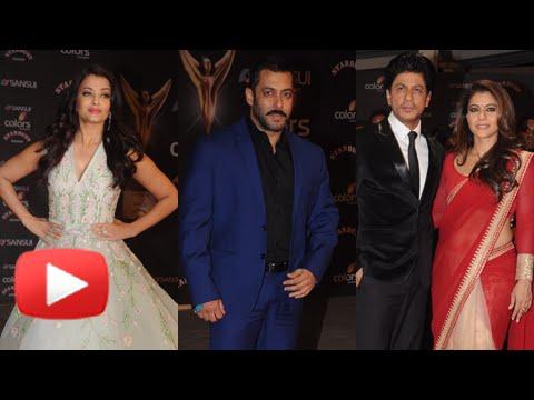 Salman Khan, Aishwaya Rai, Shahrukh Khan Attend St