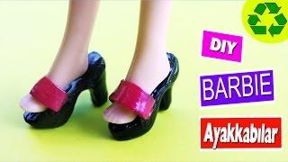 Video DIY Barbie bebekler için Ayakkabılar nasıl yapılır?  Kendin Yap MP3, 3GP, MP4, WEBM, AVI, FLV November 2017