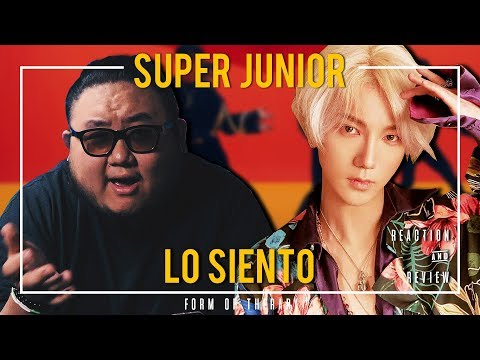 """Producer Reacts to Super Junior """"Lo Siento"""""""