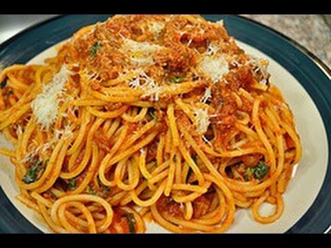 Video of Spaghetti Recipes