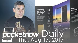 Watch today's Pocketnow Daily as we discuss hot topics like the leaked brochure of the Samsung Galaxy Note 8. We also discuss...