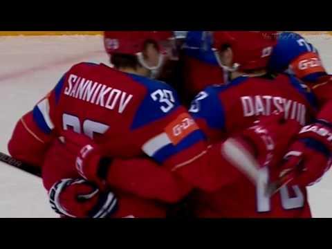 Россия - Дания 10:1 Хоккей РАЗГРОМ на ЧМ 2016 Все Голы HD (видео)