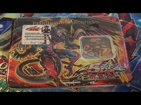 RED - Hope you all enjoyed the video let's see if we can get 400 LIKES! Remember to Subscribe for more Yu-Gi-Oh! Videos! Here is my Yugioh 5D's Red Dragon Archfiend Tin opening. Don't worry I plan...