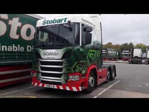 New Eddie Stobart Scania