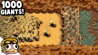 Video THE MOUNTAIN PASS, 1000+ Giants! | They Are Billions Custom Map Gameplay MP3, 3GP, MP4, WEBM, AVI, FLV Januari 2019