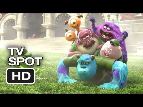 Monsters University TV SPOT - Teachers Pet Vs. Party Animal (2013) - Pixar Prequel HD Video
