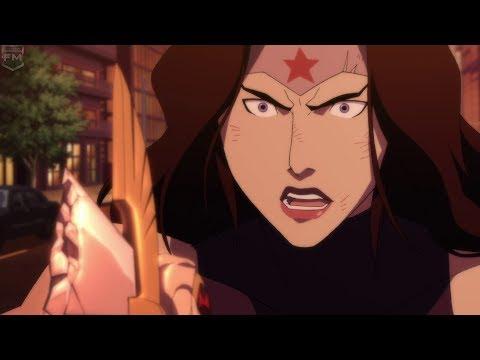 Wonder Woman vs Doomsday | The Death of Superman