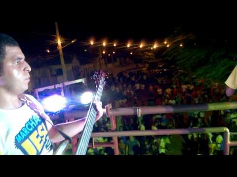 Marcha para Jesus 2014 em Marcionílio Souza-BA. Banda Percussantos.