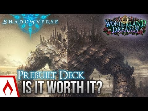 [Shadowverse] Is the New Rune Prebuilt Deck Worth It?