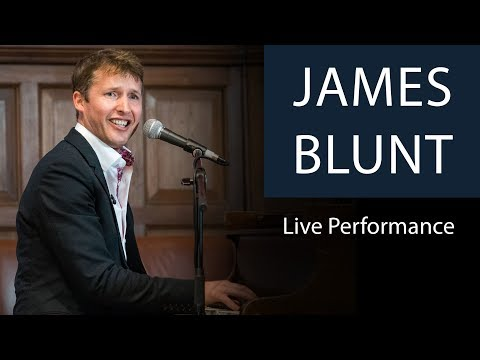 James Blunt: Goodbye My Lover (Live Performance at Oxford Union)