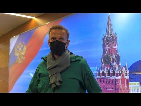 Alexeï Navalny rentre en Russie malgré les menaces d'arrestation