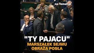 """Żenująca pyskówka w Sejmie: """"Ty pajacu!"""""""