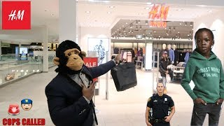Video COOLEST MONKEY IN THE JUNGLE GOES TO H&M (BAD IDEA) MP3, 3GP, MP4, WEBM, AVI, FLV April 2018