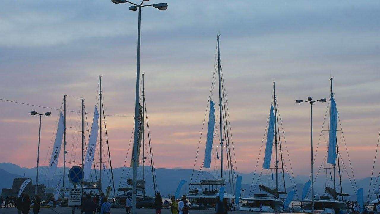 Ο υπουργός Εμπορικής Ναυτιλίας  εγκαινίασε την πέμπτη έκθεση πολυτελών σκαφών αναψυχής