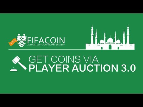 How To  Get  FIFA Coins Via FIFACOIN Player Auction 3.0
