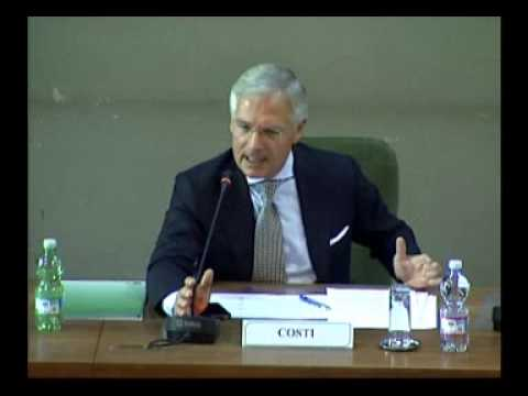 Intervento di Bruno Costi