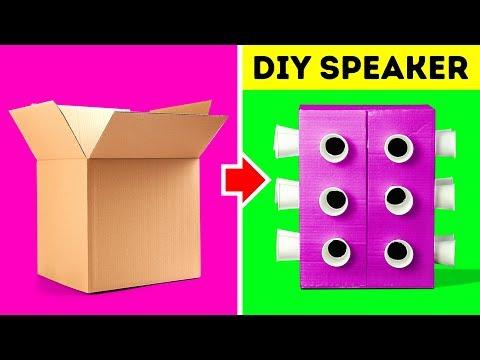 30 UNBELIEVABLE DIYS FOR YOUR HOME - Thời lượng: 12 phút.