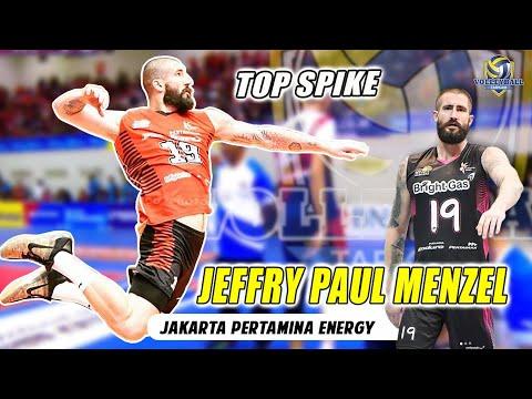 "SPIKER PALING SANGAR DI PROLIGA 2020 ""JEFFRY PAUL MENZEL"" JAKARTA PERTAMINA ENERGY"