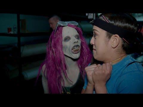 Sasha Banks becomes a WWE Zombie to terrify Raw Superstars