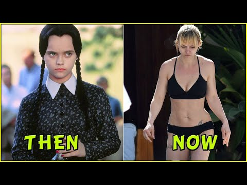 The Addams Family Then and Now 2019