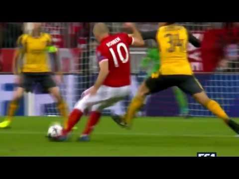 Arjen Robben Amazing Goal   Bayern Munich vs Arsenal 1 0   15 02 2017 HD   YouTube