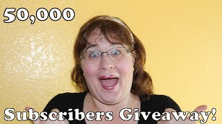 50,000 Subscribers!!!!!!!!! Win One Of Mom's Handmade Aprons!