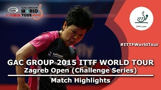 Nonton Zagreb Open 2015 Highlights  Ni Xialian Vs Yoo Eunchong  R 16  Film Subtitle Indonesia Streaming Movie Download