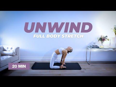 UNWIND 20 Min Full Body Stretch Routine | Caroline Girvan
