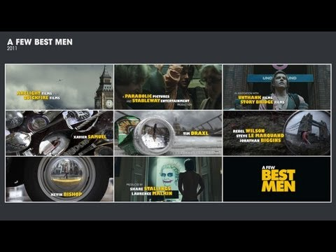 A FEW BEST MEN [2012] Opening Title Sequence