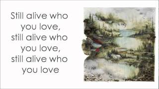 Bon Iver- Perth w/Lyrics