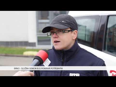 TV Brno 1: 16.11.2017 Služba Senior bus pomáhá potřebným