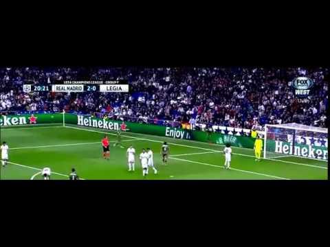 Real Madrid vs Legia warszawa 5 1 all goals 2016 ■ HD