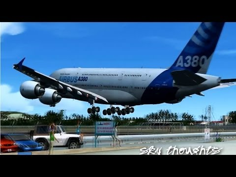 Airbus A380 @ St. Marteen!