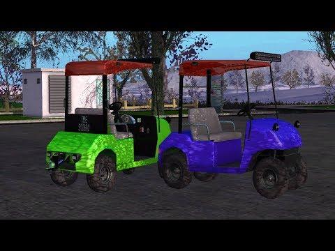 Golf Cart LARGE Color Selection v1.0