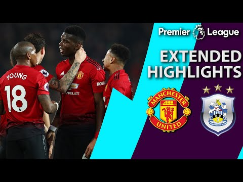 Video: Manchester United v. Huddersfield | PREMIER LEAGUE EXTENDED HIGHLIGHTS | 12/26/18 | NBC Sports