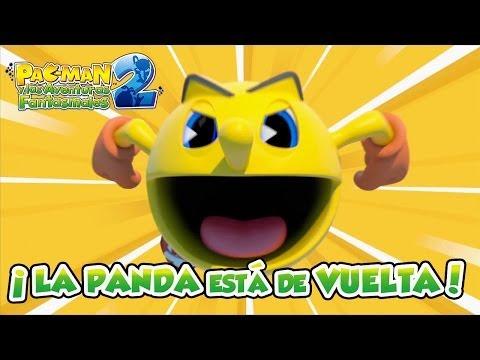 Pac-Man y las aventuras fantasmales 2 - X360/PS3/WIIU/3DS - ¡La panda está de vuelta! (Trailer)