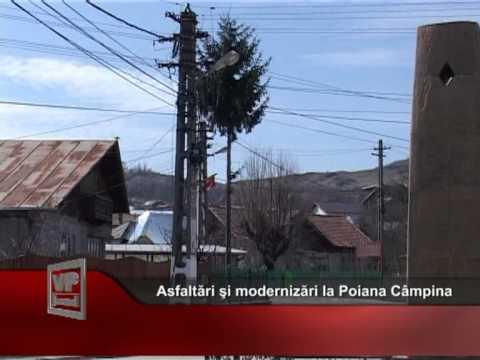 Asfaltări şi modernizări la Poiana Câmpina