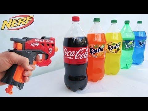 MOST DANGEROUS NERF MOD! (EXPLODING COCA COLA) (видео)